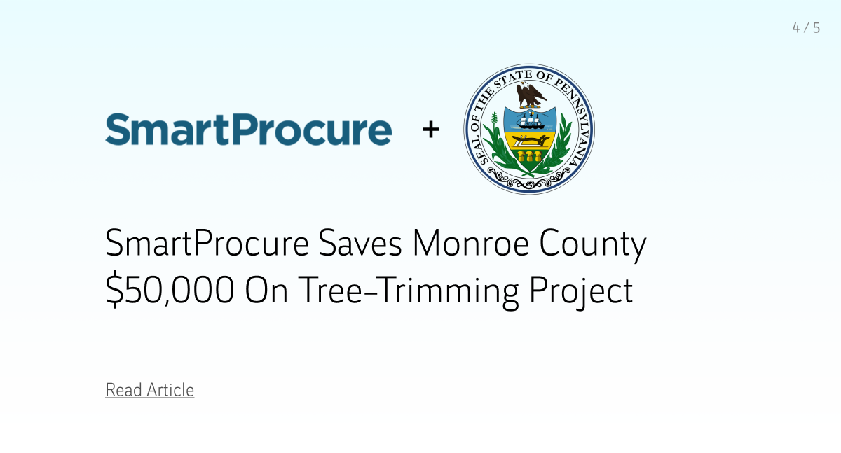 Impact: SmartProcure Rawlings-Blake