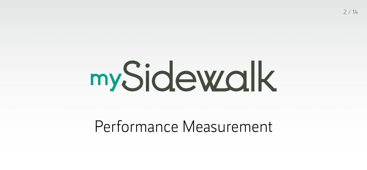 MySidewalk